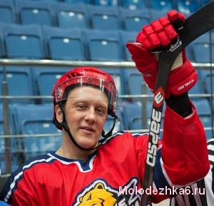 Борис Никитин, самый возрастной игрок в команде